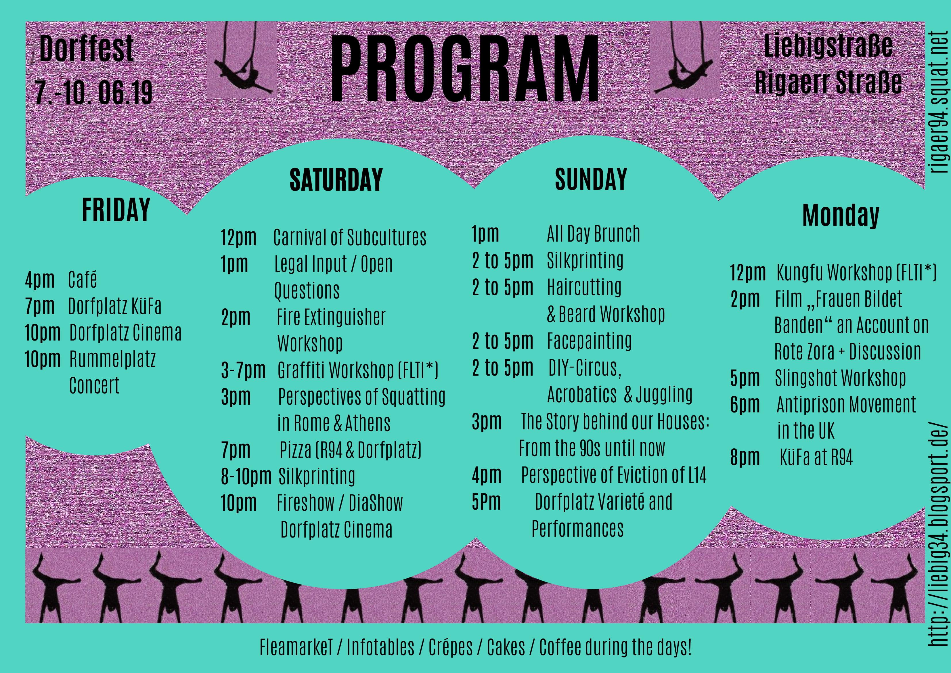 Dorffest program