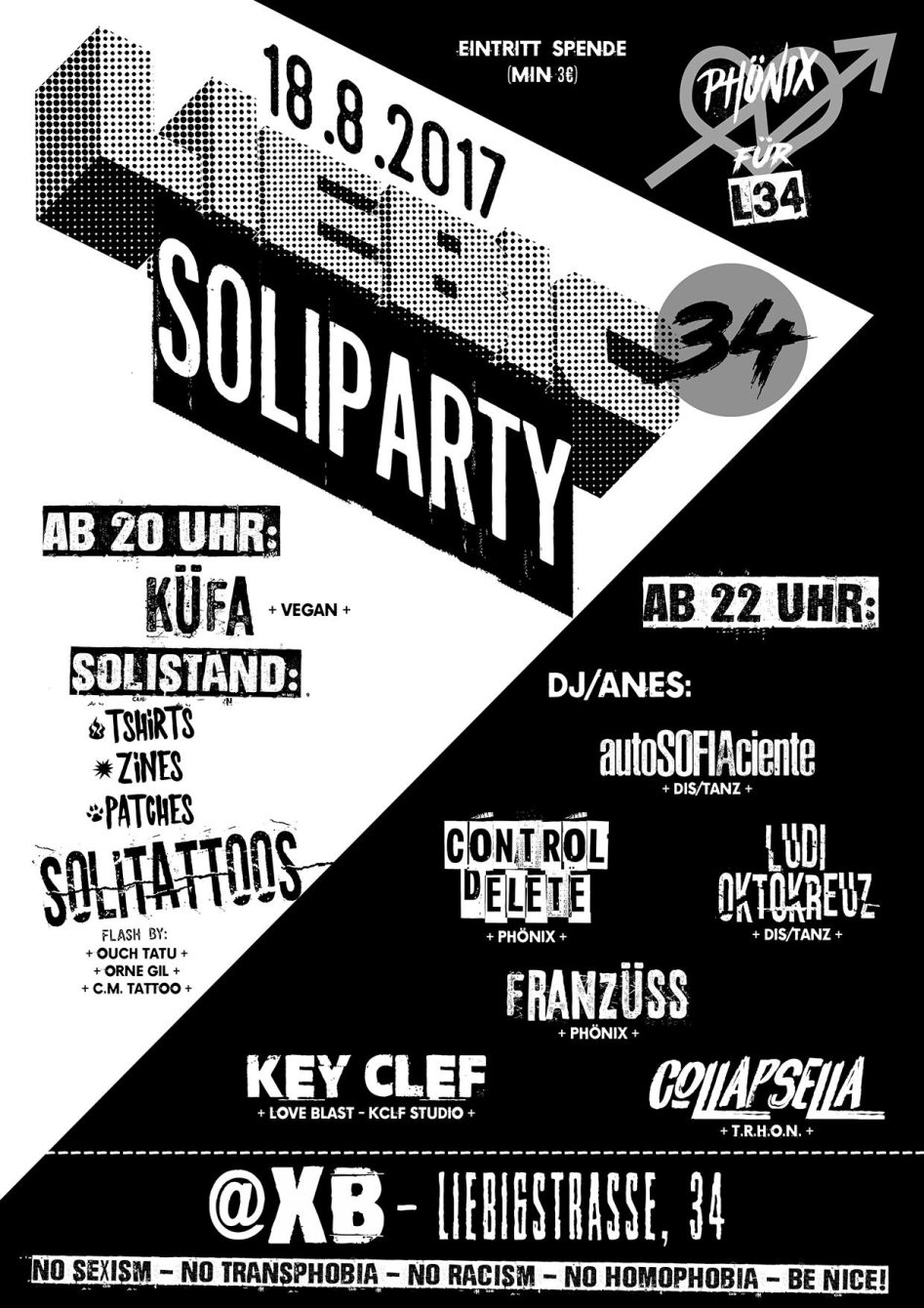 liebig 34 soli party